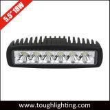 12V 6インチの点の洪水18W 4X4wd LED作業ランプ
