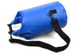 Sacchetto asciutto impermeabile del PVC della tela incatramata esterna con la cinghia di spalla