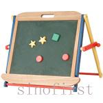 Chevalet de peinture d'art de chevalet éducatif pour enfants (NH07009)