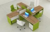 Nouvelle partition modulaire 4 personne banc de travail Poste de travail de bureau (SZ-WST842)