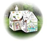 おもちゃ、家を、塗るモデルする