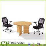 Alto marco de acero de la mesa de reuniones de la recepción en diseño moderno