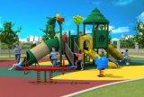Langes Spielplatz-Plättchen-im Freienspielplatz-Geräten-Kind-Plättchen HD17-014c