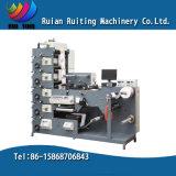 Rtry-420e máquina de impresión flexográfica de etiquetas con troquel rotativo