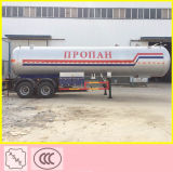 ASME 기준 트레일러 40500 리터 LPG 가스 유조선