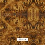 毎日の使用および車の部品Bds31Aのための1mの幅のHydrographicsの印刷のフィルムの木パターン
