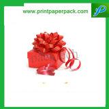 チョコレートお菓子屋の包装のクリスマスのペーパーギフト用の箱
