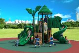 Kind-hölzernes im Freienspielplatz-Geräten-Kind-Plättchen HD17-006A