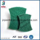 (YF-SC035) кухня очистка нейлоновые губки с абразивным покрытием