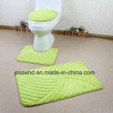 防水およびスリップ防止バス・マット3PCSの浴室の敷物セット