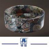 Polished раковины мытья камня мрамора гранита для ванной комнаты/кухни/Countertop