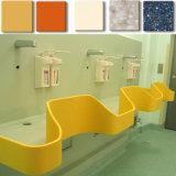 Feste Oberflächenwaschraumund Kücheacrylsauercountertops mit Wannen