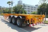 40 Pés 3eixos petroleiro trailer do Chassi