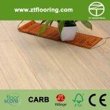 Strandwoven Handscraped cremoso de pisos de bambú)