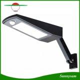Ángulo ajustable de 48 LED Impermeable IP65 Sensor de movimiento de exterior Lámpara Solar