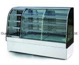 Прочный выполненный на заказ многофункциональный стеклянный холодильник индикации торта с Ce