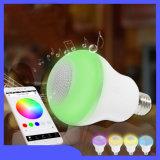 Smart Bluetooth светодиодная лампа E27 с громкоговорителем