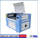 Baumwolltuch-Ausschnitt-Maschine CO2 Laser-Ausschnitt-Maschine 90W