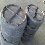 Acoplamiento de alambre hecho punto separador de partículas robusto de acero inoxidable del petróleo