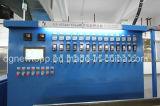 Tipo de retroalimentación automática de cable de la formación de espuma física de la línea de extrusión