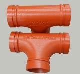Accessori duttili del tubo del pezzo fuso del ferro e T uguale per il sistema di lotta antincendio