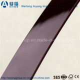 Du grain du bois/Solid Color/Magic Design de Shandong Lipping PVC Edge