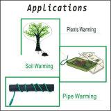 Super fácil instalación del cable calefactor Planta de semillero del suelo por cable de calor