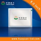 Affichage à cristaux liquides industriel écran tactile de 8 pouces avec le VGA HDMI poids du commerce DV
