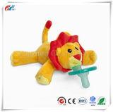 귀여운 사자 연약한 장난감 유아 고무 젖꼭지 장난감