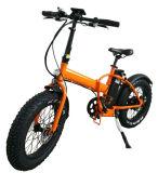 20 pulgadas 500W neumático Fat bicicleta eléctrica plegable