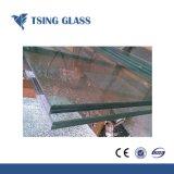 O vidro laminado com bronze verde azul violeta Corlors cinza