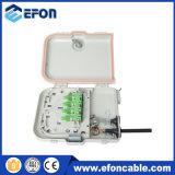 8 포트 FTTH 섬유 끝 상자 종료 상자 또는 Caja Fibra Optica 8 Puerto