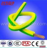 Cabos isolados PVC elétricos flexíveis