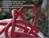 高い耐久性の岩登りの安全ロープ