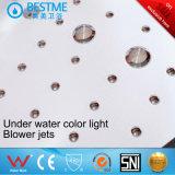 Rosa de cristal de la esquina de calidad superior en el interior de bañera de masaje (BT-A325)