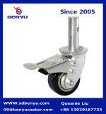 5-дюймовый поворотный промышленных PU лесов самоустанавливающегося колеса