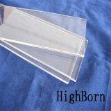 Borrar de la placa de vidrio de borosilicato de alta densidad