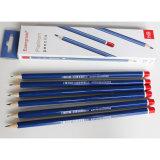 Crayons Hb de type classique en bois avec une trempette fin, l'École de la papeterie de bureau