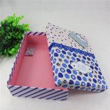 La caja de regalo personalizado Caja de papel colorido cuadro de la bolsa de embalaje