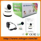 HDの無線ネットワークP2pの機密保護CCTV WiFi IPのカメラ屋内鍋の傾きの赤ん坊