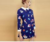 Boutique - печать платье из Китая высокого качества изготовителя