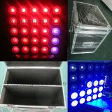 Indicatori luminosi professionali di effetto della matrice a punti della fase 25X10W di DMX LED