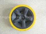 Roda contínua da espuma do pneumático/poliuretano do Wheelbarrow de Flatfree