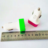 Snelle Charger Mini Car Charger 5V/2.1A+2.1A+1A voor iPhone 6 5 5s Samsung S4 S5 Note 2 3 iPad 3 4