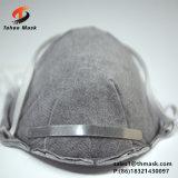 Masque actif de carbone de cuvette de la poussière industrielle en ligne de la forme N95 avec la soupape pour le travail du bois