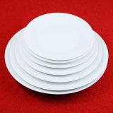 Le restaurant sert des plats de gros de plaques en céramique