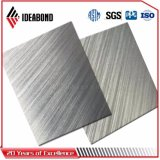 El panel compuesto de aluminio aplicado con brocha alta calidad (AE-32B)