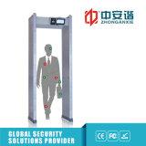 Inspecção de Segurança da Embaixada ao ar livre 24 Zones Archway Metal Detector