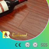 revestimento da estratificação da madeira do carvalho E1 HDF da noz do vinil de 12.3mm