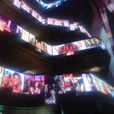 Innen P4.81 sterben Bildschirm der Form-LED für das Einkaufszentrum-Bekanntmachen